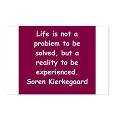 kierkegaard Postcards (Package of 8)