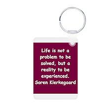 kierkegaard Keychains