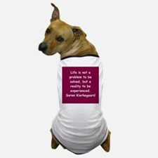 kierkegaard Dog T-Shirt