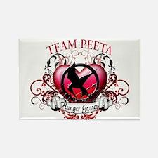 Team Peeta Rectangle Magnet