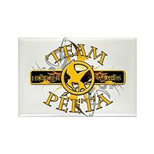 Team Peeta (tribal) Rectangle Magnet