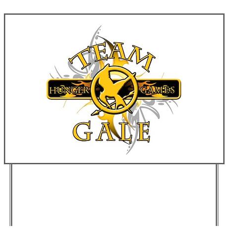 Team Gale (tribal) Yard Sign