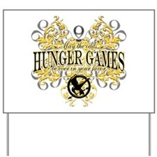 Hunger Games Yard Sign