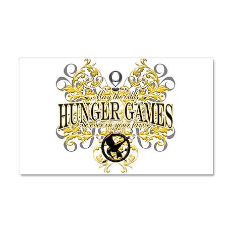 Hunger Games Car Magnet 20 x 12