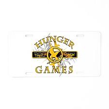 Hunger Games (tribal) Aluminum License Plate