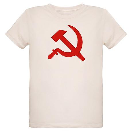 Hammer & Sickle Organic Kids T-Shirt