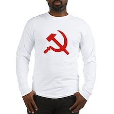 Hammer & Sickle Long Sleeve T-Shirt