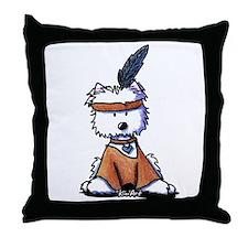 Pawcahontas Throw Pillow