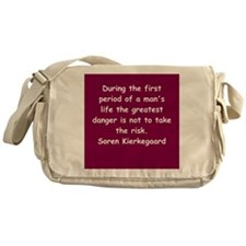 kierkegaard Messenger Bag