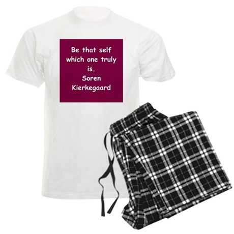 kierkegaard Men's Light Pajamas