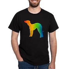 Bedlington Terrier Black T-Shirt