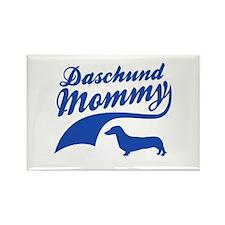 Daschund Mommy Rectangle Magnet