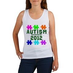 Autism Awareness 2012 Women's Tank Top