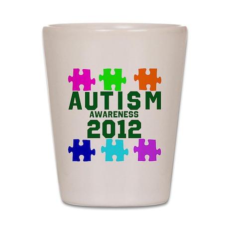Autism Awareness 2012 Shot Glass