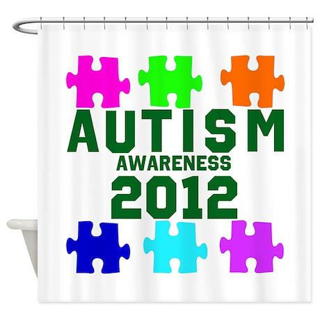 Autism Awareness 2012 Shower Curtain