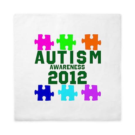 Autism Awareness 2012 Queen Duvet