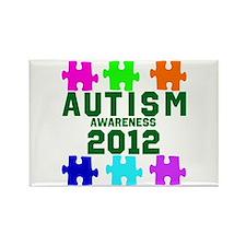 Autism Awareness 2012 Rectangle Magnet