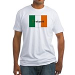 Irish Flag / Eire Fitted T-Shirt