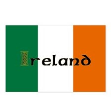 Irish Flag / Eire Postcards (Package of 8)