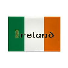 Irish Flag / Eire Rectangle Magnet
