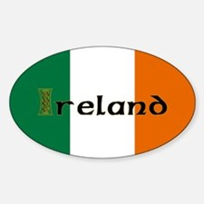 Irish Flag / Eire Oval Decal