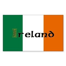 Irish Flag / Eire Rectangle Decal
