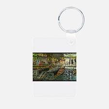 Bathers at La Grenouillere, Monet, Keychains