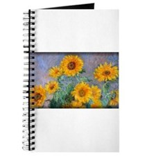 Bouquet of Sunflowers, Monet, Journal