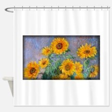 Bouquet of Sunflowers, Monet, Shower Curtain
