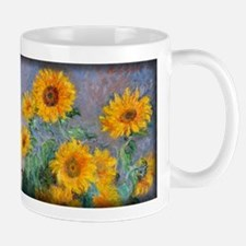 Bouquet of Sunflowers, Monet, Mug
