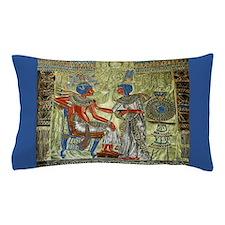 Tutankhamons Throne Pillow Case