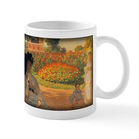 Camille Monet in the Garden, Monet, Mug