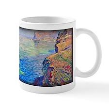 Cliff at Grainval near Fecamp, Monet, Mug