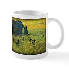 Monet Painting, Cliffs at Etretat, Mug