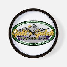 Galt's Gulch Trading Co. Wall Clock