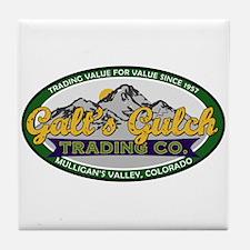 Galt's Gulch Trading Co. Tile Coaster