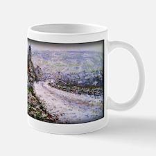 Entering the Village of Vetheuil in Winter, Monet,