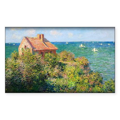 Fisherman's Cottage at Varengeville, Monet, Sticke