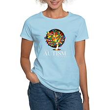 Autism-Tree-blk T-Shirt
