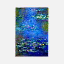 Monet - Water Lilies 1903 Rectangle Magnet
