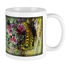 Monet Painting, Flowers in a Pot, Mug