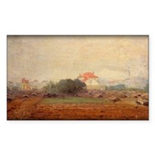 Monet Painting, Fog Effect, 1872, Decal
