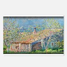 Gardener's House at Antibes, Monet, Postcards (Pac