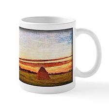 Grainstacks at Chailly at Sunrise, Monet, Mug