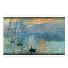Impression, Sunrise, Monet, Postcards (Package of