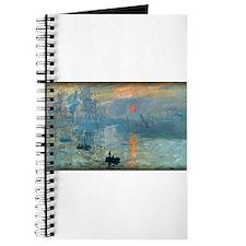 Impression, Sunrise, Monet, Journal