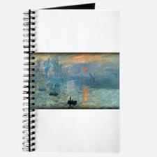 Impression, Sunrise, Monet, Journal