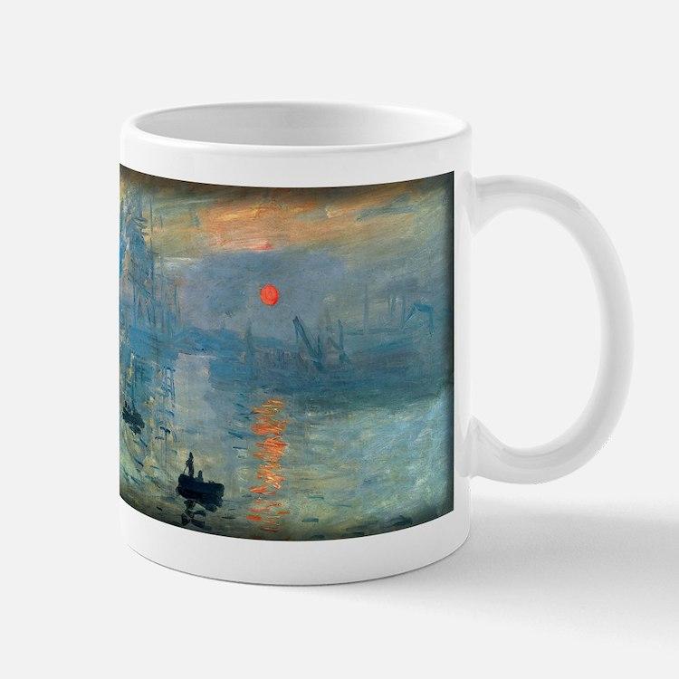Impression, Sunrise, Monet, Mug