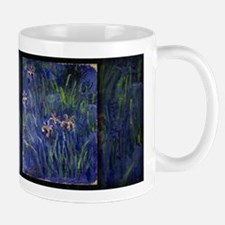 Monet Painting, Irises 2, 1914-17, Mug