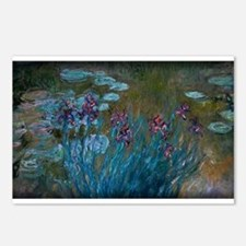 Irises and Water-Lilies Monet, Postcards (Package